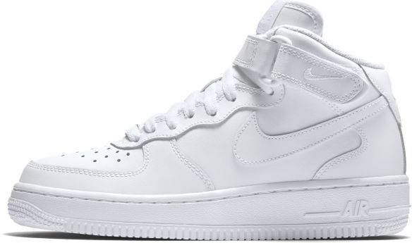 314195 113 Boys' Nike Air Force 1 Mid '06 (GS) Shoe!! WHITEWHITEWHITE!!